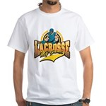Lacrosse My Game White T-Shirt