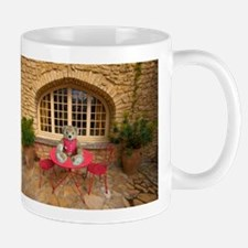 Mr. Biddle in Provence, France Mugs
