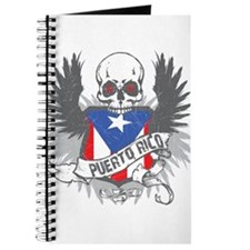 Puerto Rico Wings and Skull Journal