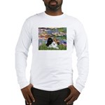 Lilies / 3 Poodles Long Sleeve T-Shirt
