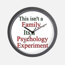 Family Psych Experiment2 Wall Clock