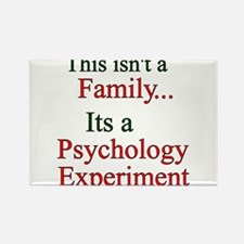 Family Psych Experiment2 Rectangle Magnet