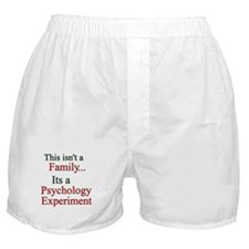 Family Psych Experiment2 Boxer Shorts
