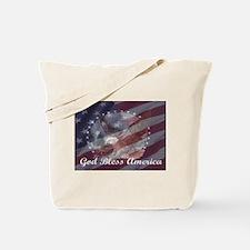 God Bless America 2 Tote Bag