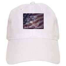 God Bless America 2 Baseball Cap