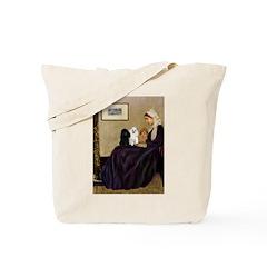 Whistler's / 3 Poodles Tote Bag