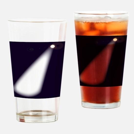 Cute Spotlight Drinking Glass