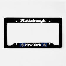 Plattsburgh NY - LPF License Plate Holder