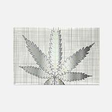 Cool Herbal smoke Rectangle Magnet