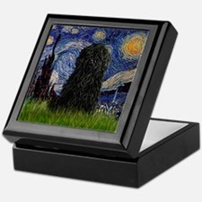 Starry Night / Puli Keepsake Box