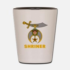 Funny Shriners Shot Glass