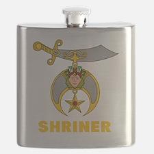 Unique Shriners Flask
