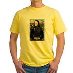Mona Lisa /Puli Yellow T-Shirt