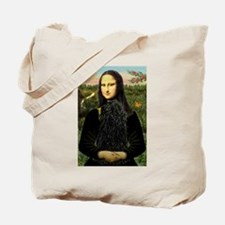 Mona Lisa /Puli Tote Bag