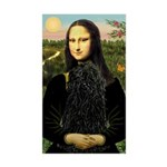 Mona Lisa /Puli Sticker (Rectangle)