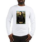 Mona Lisa /Puli Long Sleeve T-Shirt