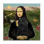 Mona Lisa /Puli Tile Coaster