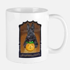 Scottish Terrier Halloween Mug