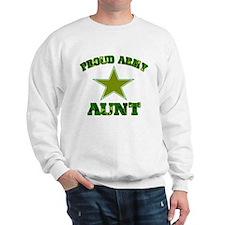 Proud army aunt Sweatshirt