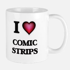 I love Comic Strips Mugs