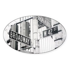 NY Broadway Times Square - Decal
