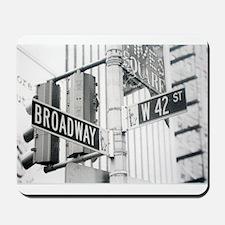 NY Broadway Times Square - Mousepad