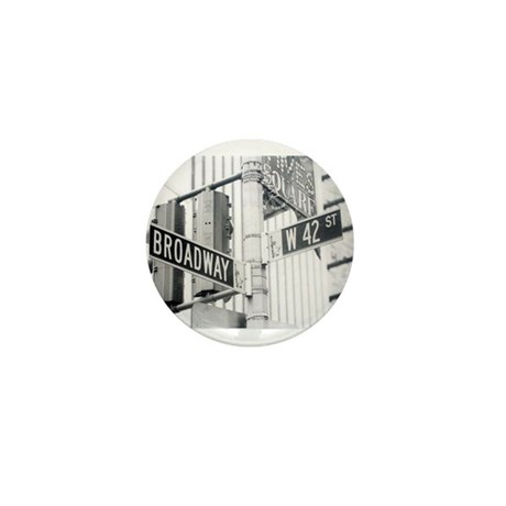 NY Broadway Times Square - Mini Button (100 pack)