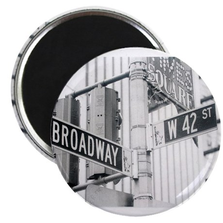 "NY Broadway Times Square - 2.25"" Magnet (10 pack)"