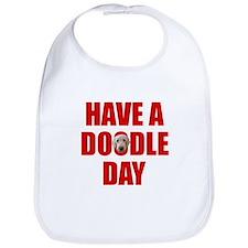 Have A Doodle Day Labradoodle Bib