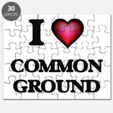 I love Common Ground Puzzle