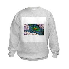 Marcy Hall's Green Wind Rabbit Sweatshirt