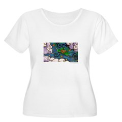 Marcy Hall's Green Wind Rabbit T-Shirt