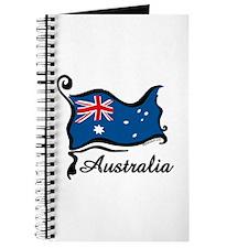 Funky Australian Flag Journal