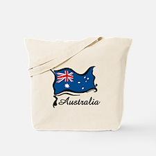 Funky Australian Flag Tote Bag