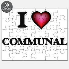 I love Communal Puzzle
