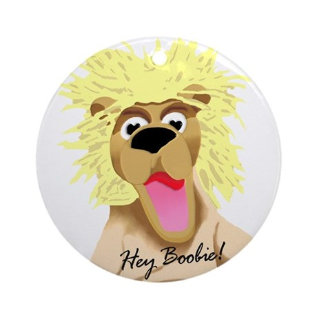 Pookie the Lion Ornament (Round)