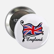 "Funky British Flag 2.25"" Button"