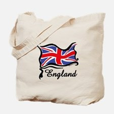 Funky British Flag Tote Bag