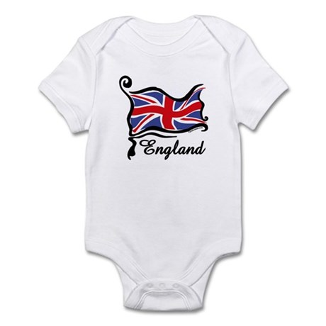 Funky British Flag Infant Bodysuit