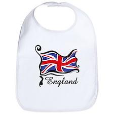 Funky British Flag Bib