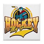 Hockey My Game Tile Coaster