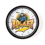 Hockey My Game Wall Clock