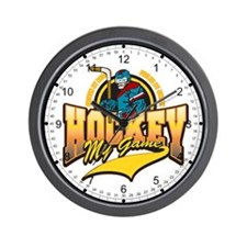 Hockey My Game Wall Clock