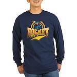 Hockey My Game Long Sleeve Dark T-Shirt
