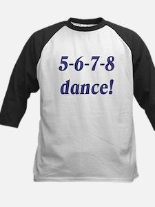 5-6-7-8-dance Kids Baseball Jersey