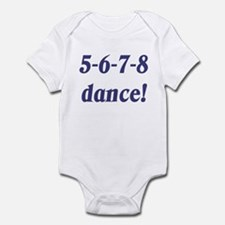 5-6-7-8-dance Infant Bodysuit