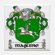 Maguire Coat of Arms Ceramic Tile