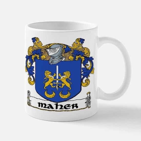 Maher Coat of Arms Mug