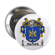 "Maher Coat of Arms 2.25"" Button (10 pack)"