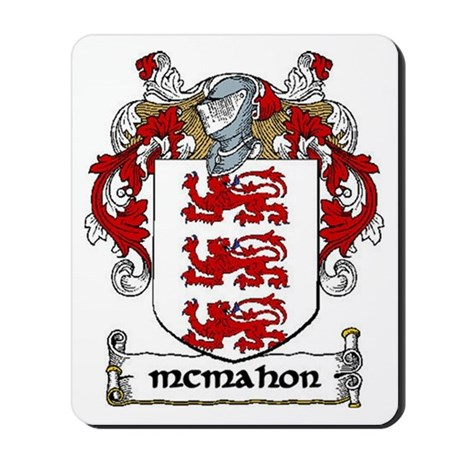 McMahon Coat of Arms Mousepad